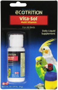 vitasol 1 oz multi vitamin daily liquid supplement seputar burung